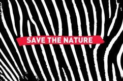 naturen sparar royaltyfri illustrationer