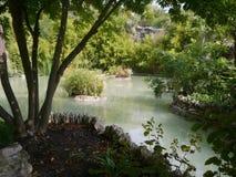 Naturen whater och kopplar av i San Antonio, Texas, Arkivfoton