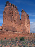 Natures architecture. The organ at arches national park, utah Stock Image