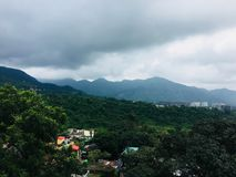 Natures beauty. A very beautiful natures scene in dehradun stock photo