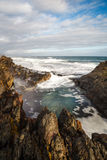 Natures Valley. The rock pools at Natures Valley, South Africa Royalty Free Stock Photography