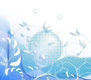 Natureza azul Ilustração Royalty Free