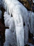 Natureza congelada das quedas imagens de stock royalty free