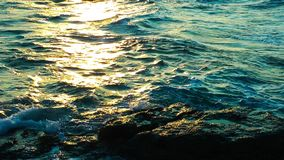 Natureza da água do mar e conceito bonitos do feriado vídeos de arquivo