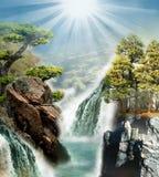 Natureza da fantasia Imagens de Stock Royalty Free