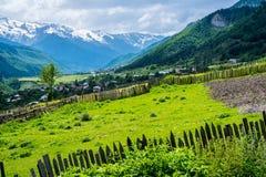 Natureza da montanha de Geórgia Imagem de Stock Royalty Free