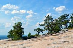 A natureza da montanha de pedra Imagem de Stock