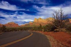 Natureza da paisagem - Sedona, o Arizona Imagem de Stock