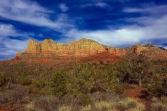 Natureza da paisagem - Sedona, o Arizona Fotos de Stock Royalty Free