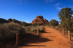 Natureza da paisagem - Sedona, o Arizona Foto de Stock