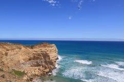 Natureza de Austrália de doze apóstolos Fotografia de Stock Royalty Free