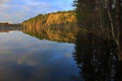 Natureza de Carélia, Rússia Imagem de Stock