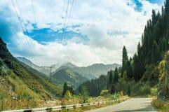 A natureza de Cazaquistão no outono imagens de stock royalty free