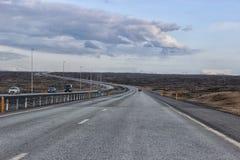 Natureza de Islândia Roadtrip Fotos de Stock Royalty Free