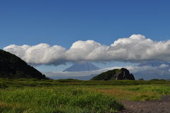 Natureza de Kamchatka Imagem de Stock