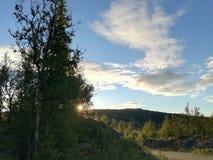 Natureza de Noruega imagem de stock