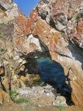 Natureza do Lago Baikal Janela no mar Fotografia de Stock Royalty Free