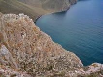 A natureza do Lago Baikal Vistas do lago Imagens de Stock