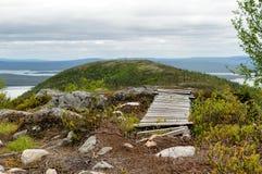 A natureza do norte Fotos de Stock Royalty Free