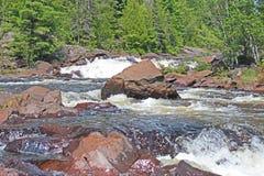 Natureza do norte de Ontário imagem de stock