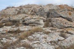 Natureza do parque natural da paisagem de Karalarsky Fotos de Stock Royalty Free