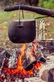 A natureza do potenciômetro do fogo Imagem de Stock