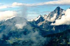 Natureza dos cumes Fotografia de Stock Royalty Free