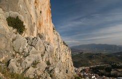 Natureza e cidade espanhola de Jae'n Imagem de Stock Royalty Free