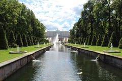 Natureza em Peterhof Fotos de Stock