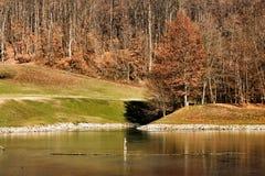 Natureza em Serbia imagens de stock