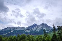 Natureza em Tatras Imagens de Stock