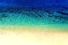 Natureza exótica da água do mar Paraíso tropical da água V bonito fotografia de stock
