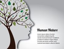 Natureza humana ilustração royalty free