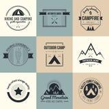 Natureza Logo Collection Fotografia de Stock Royalty Free