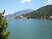Natureza maravilhosa em Fethiye Turquia Imagem de Stock