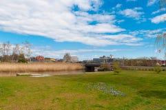Natureza na cidade de Koge em Dinamarca Imagem de Stock