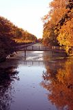 Natureza na queda em Holland Foto de Stock Royalty Free