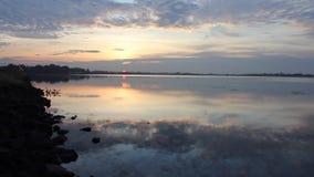 Natureza, nascer do sol, lapso de tempo filme
