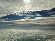 Natureza no céu Imagens de Stock