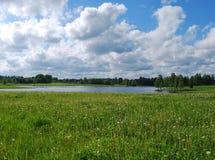 Natureza no distrito de Kuldiga. Fotos de Stock