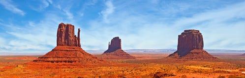 Natureza no parque do Navajo do vale do monumento, Utá EUA Fotos de Stock Royalty Free