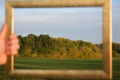 Natureza no quadro Fotografia de Stock