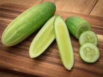 A natureza pode ser consideravelmente estranha às vezes, pepino é nutritivo, t Foto de Stock Royalty Free