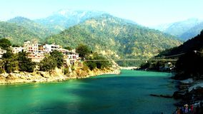 Natureza Rishikesh foto de stock