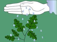 Natureza segura ilustração stock