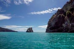 A natureza verde da ilha e do mar ajardina em Itália Imagem de Stock