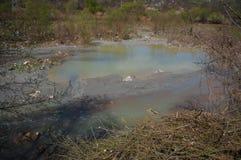 Naturförorening Arkivbilder