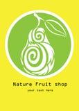 Naturfruktaffär Arkivbilder