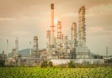 Naturgaslagringsbehållare fotografering för bildbyråer