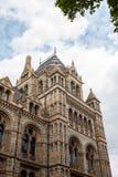 Naturgeschichte-Museum in London Stockbild